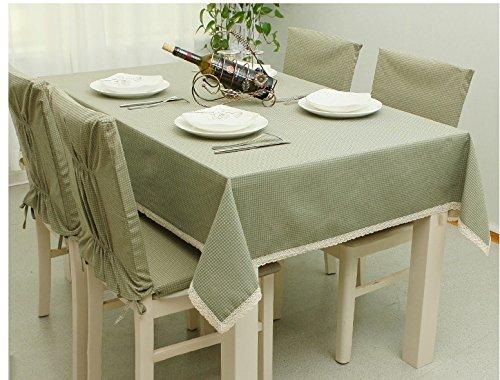 MEICHEN-Piccolo cuscino fresco tovaglia in cotone home tovaglia,traliccio, Sedia cuscino 40*40*2