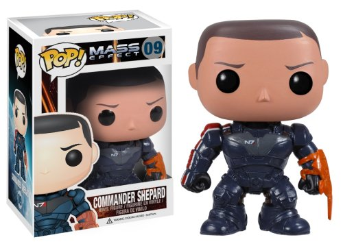 Funko POP Games Mass Effect Commander Shepard Vinyl Figure - 1