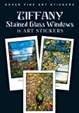 img - for Tiffany Stained Glass Windows: 16 Art Stickers (Dover Art Stickers) book / textbook / text book
