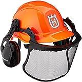 ハスクバーナ ヘルメット一式 蛍光色 5056755-15