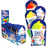 Icee Popping Powder Candy w/ Lollipop: 18 Count