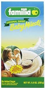 Familia Baby Muesli Cereal - 8.8 oz - 2 pk