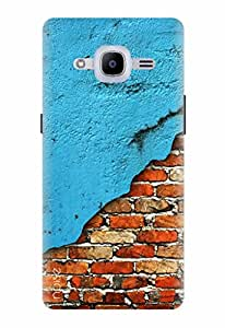 Noise Designer Printed Case / Cover for Samsung Galaxy J2 - 6 (New 2016 Edition) / Patterns & Ethnic / Beryl Brick Design