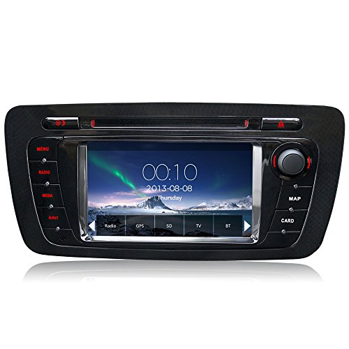 A-Sure-Car-Autoradio-GPS-Navigation-DVD-VMCD-RDS-Bluetooth-Fr-SEAT-IBIZA-2009-2013