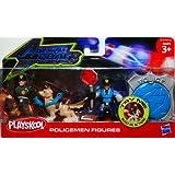 Playskool adventure heroes policemen figures - Playskool helmet heroes police officer ...