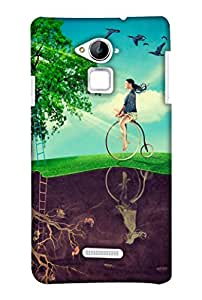 Print Haat Back Case Cover for Coolpad Note 3 (Multicolor)