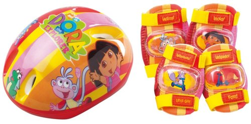 Dora the Explorer - Helmet & Pads