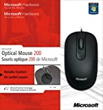 Microsoft Optical Mouse 200 (Retail Packaging)
