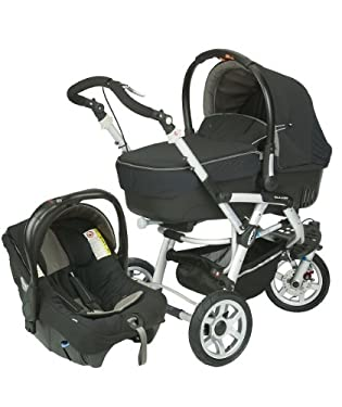 Jane Slalom Formula 3 Wheeler Pushchair - Meteorite