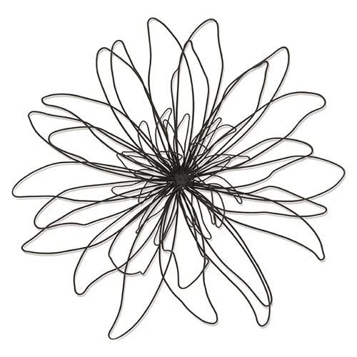 Metal Wire Zinnia Flower Wall Decor Automobiles Everything Else