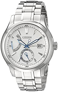 Citizen Men's NB3010-52A Citizen Signature Grand Classic Analog Display Japanese Automatic Silver Watch