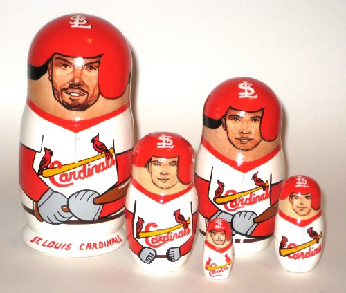 St Louis Cardinals * MLB Baseball * or any other sport team * 5 pcs / 6 in