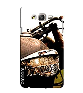 Omnam Bullet Triumph Printed Designer Back Cover Case For Samsung Galaxy On 5