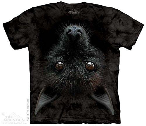 The Mountain Men's Bat Head T-Shirt, Black, Large