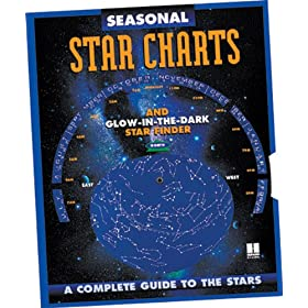 Hubbard Scientific Glow-in-the-Dark Seasonal Star Chart Book