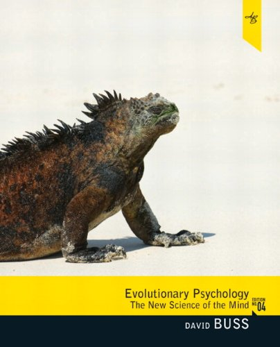 Evolutionary Psychology: The New Science of the Mind (4th...
