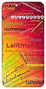 Lalitmohan (beautiful & attractive) Name & Sign Printed All over customize & Personalized!! Protective back cover for your Smart Phone : Samsung Galaxy S4mini / i9190