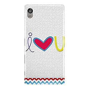 a AND b Designer Printed Mobile Back Cover / Back Case For Sony Xperia Z5 Premium (SON_Z5P_3D_437)