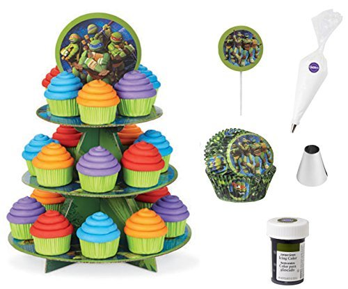 TMNT Cupcake Bundle of 6 Products