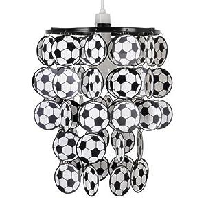MiniSun - Boys Football Bedroom/Nursery Ceiling Pendant Light Shade by MiniSun