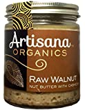 Artisana 100% Organic Raw Walnut Butter with Cashews-8 oz