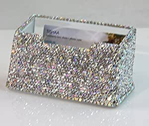 Amazoncom tishaa bling bling decorative business card for Bling business card holder