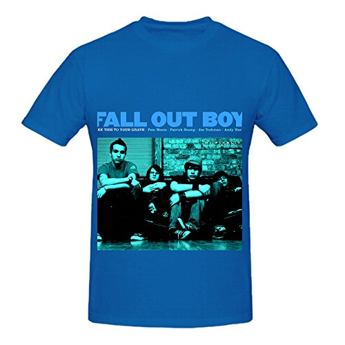 Fall Out Boy Take This To Your Grave Greatest Hits Men Printed Shirts Blue