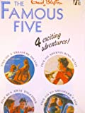 Enid Blyton The Famous Five (box set): 4 Exciting Adventures! (Five on a Treasure Island, Five Go Adventuring Again, Five Run Away Together, Five Go to Smuggler's Top)