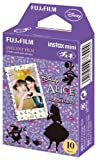 Fuji Instax Mini Films - Disney Alice in Wonderland | Usable with Polaroid Mio & 300 - Lomo Diana Instant Back | 10 sheets