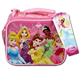 Disney Princess Pink Rectangle Lunch Bag For Girls