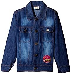 Motu Patlu Boys Jacket (DFSJ-2108_Light Blue_2 - 3 years)