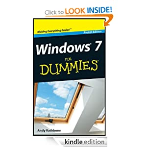 Windows 7 For Dummies, Pocket Edition Andy Rathbone