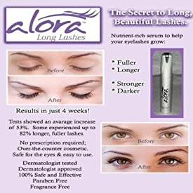 ALORA LONG LASHES EYE RENEWAL SYSTEM (FULLER..LONGER..STRONGER..DARKER LASHES!)