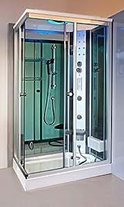 Box doccia idromassaggio Krystal 120x80 B