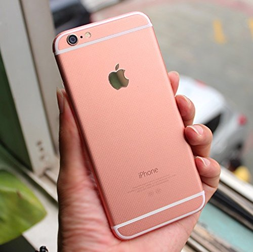 iPhone 6 Decal, Supstar Full Body Skin Sticker [Change to 6s Rose Gold] Wrap Covered Edges Vinyl Decal Screen Protector Film for Apple iPhone 6 (Rose Gold)