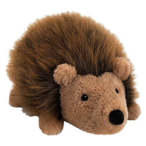john-lewis-buster-the-boxer-hallie-the-hedgehog-plush-soft-toy-brown-h18cm