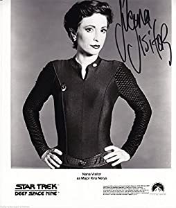 Nana Visitor Signed Autographed 8x10 As Colonel Nerys Star Trek Deep Space Nine