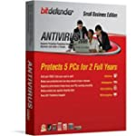 Bitdefender Antivirus 2009 - 2 Yr/5Pc