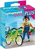 Playmobil 4791 Specials Plus Handyman with Bike