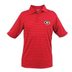 Georgia Bulldogs Antigua Mens Elevate Polo by Antigua