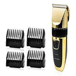 chialstar cordless hair clipper men beard head electric trimmer professional barber. Black Bedroom Furniture Sets. Home Design Ideas