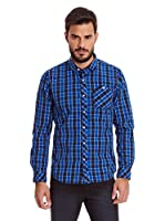New Caro Camisa Hombre Cabanel (Azul)