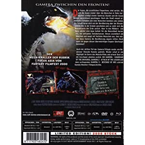 Gamera: Revenge of Iris - Limited Fan Edition Medi [Import allemand]