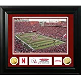 "NCAA Nebraska Cornhuskers Special Edition Gold Coin Photo Mint, 32"" X 27"" X 4"", Gold"