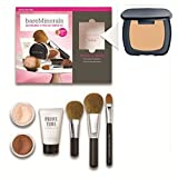 R270 Ready (SPF 20) BareMinerals 8-Piece Get Started Kit - Set includes: 1x Original Mineral Veil, 1x Warmth All Over Face Colour, 1x Full Flawless Face Brush, 1x Flawless Application Face Brush, 1x Maximum Coverage Concealer Brush, 1x Prime Time Foundat