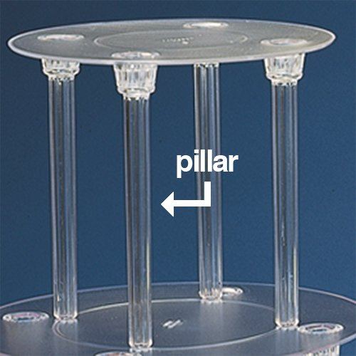 Wedding Cake Stand Pillar 7 Special Offers Rona Bakeware