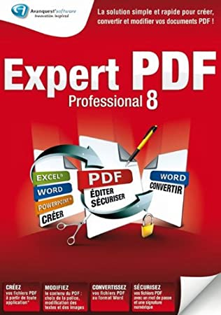 Expert PDF 8 professional