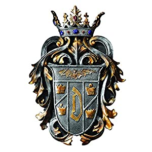 Count Dracula's Coat of Arms Wall Plaque, Multicolored: Home & Kitchen