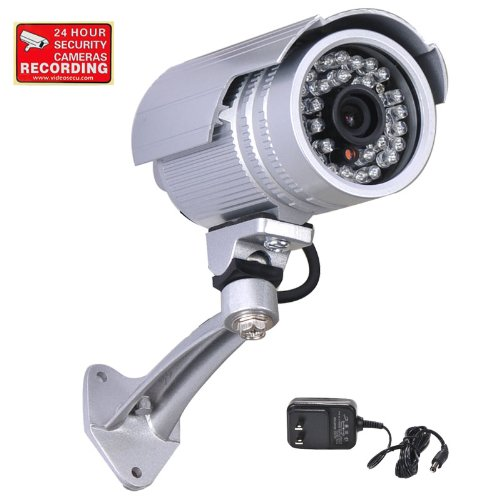 Cheapest Price! VideoSecu CCTV Surveillance Outdoor Bullet Security Camera IR Infrared Day Night Vis...
