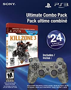 Ultimate Combo Pack - Killzone 3 Greatest Hits & Dualshock 3 wireless controller - Playstation 3